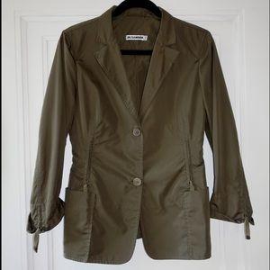 Nil Sander Olive Jacket LIKE NEW